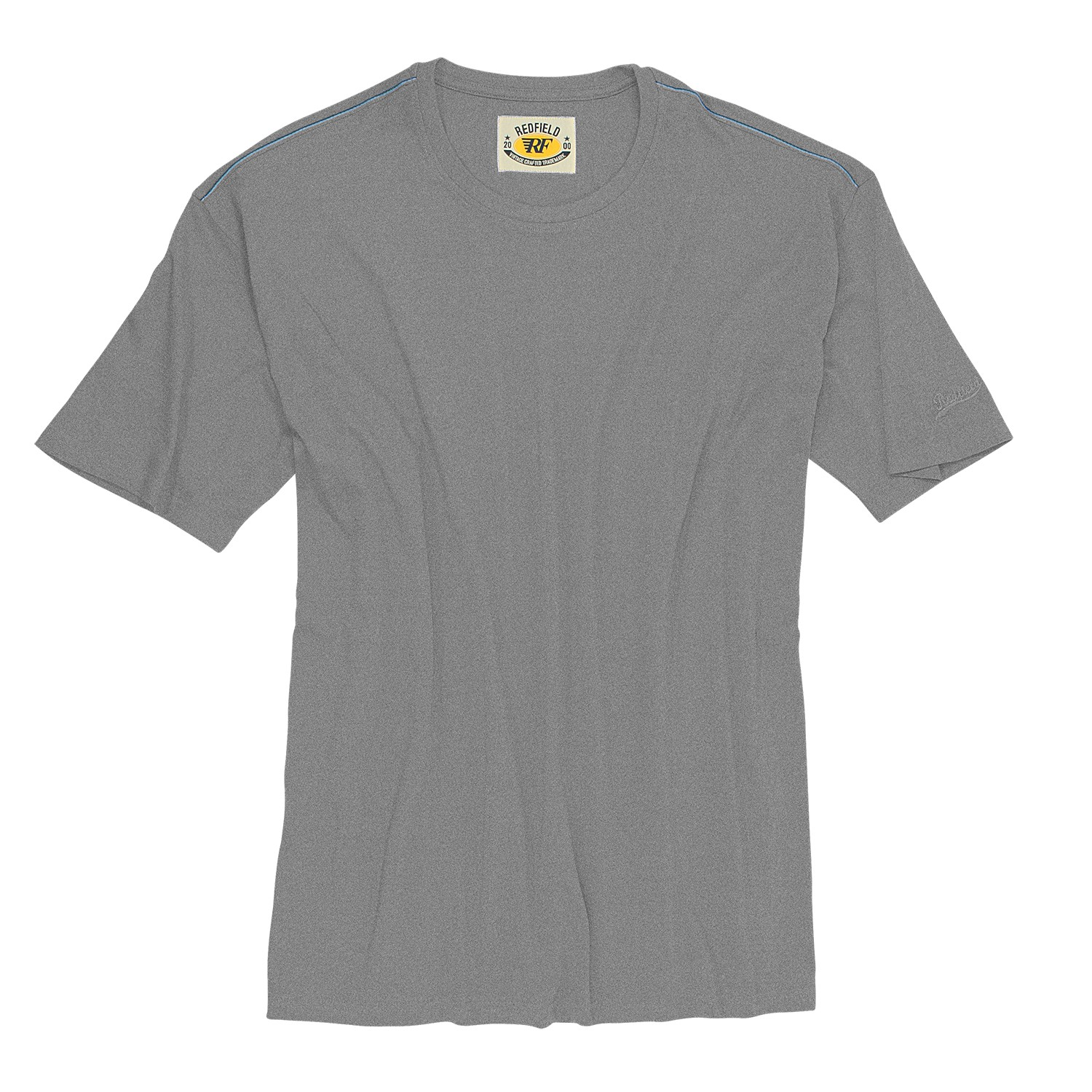 detail image to grey crew neck t shirt by redfield in oversizes up to. Black Bedroom Furniture Sets. Home Design Ideas